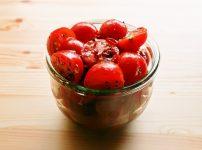 【野菜ひとつ】ミニトマトのスパイシーマリネ