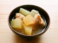 ほっとする味 冬瓜と鶏肉の煮物