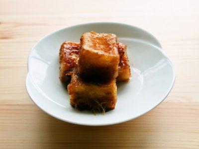 高野豆腐の生姜照り焼き
