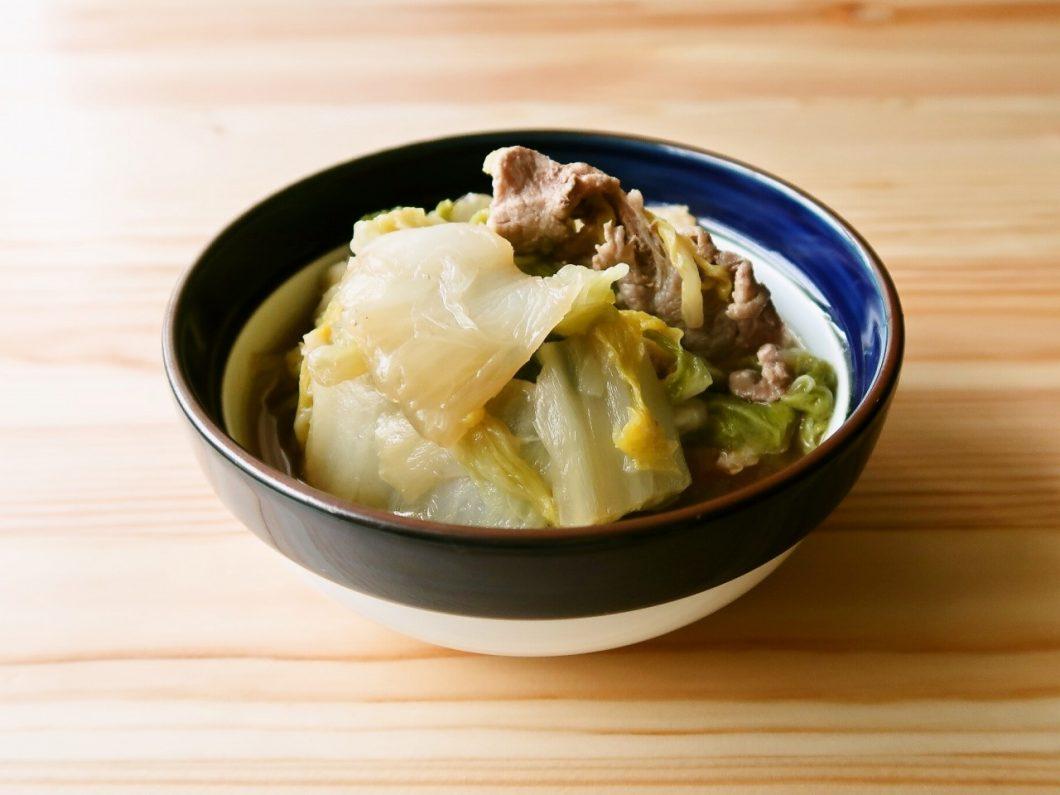 やさしい味わい 白菜と豚肉の煮物