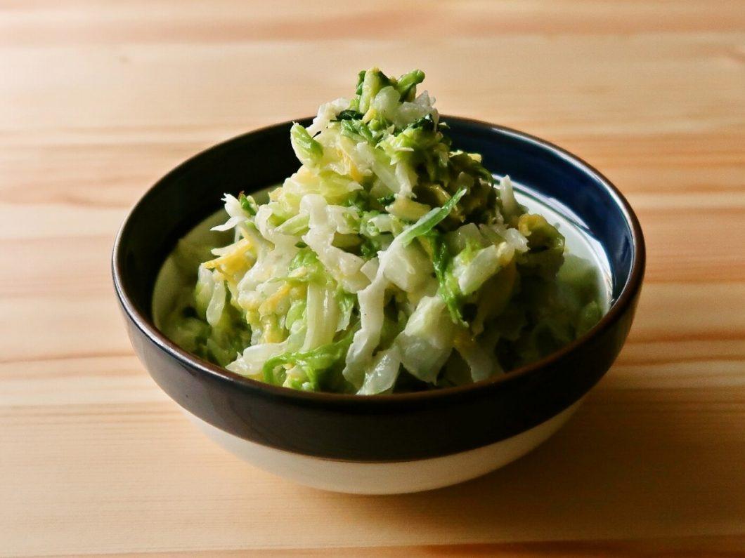 【野菜ひとつ】大量消費 白菜のコールスロー
