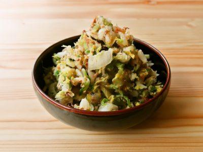 【野菜ひとつ】調味料いらず 白菜の梅昆布おかか和え
