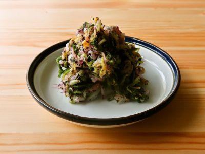 【野菜ひとつ】大量消費 白菜のゆかり和え