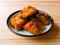 【野菜ひとつ】豆板醤でピリ辛かぼちゃ