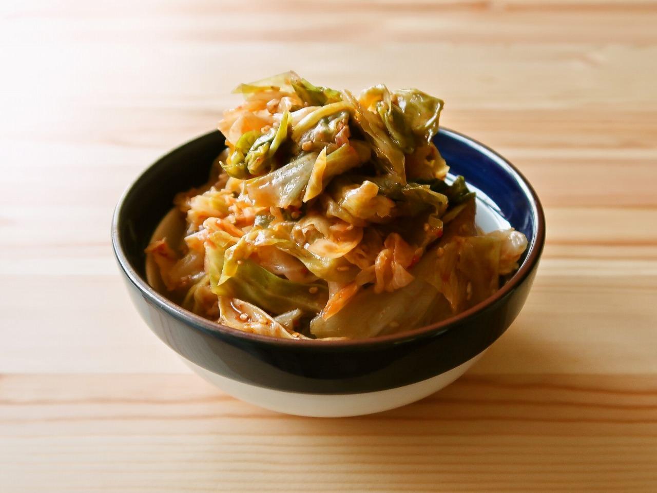【野菜ひとつ】大量消費 ピリ辛キャベツ
