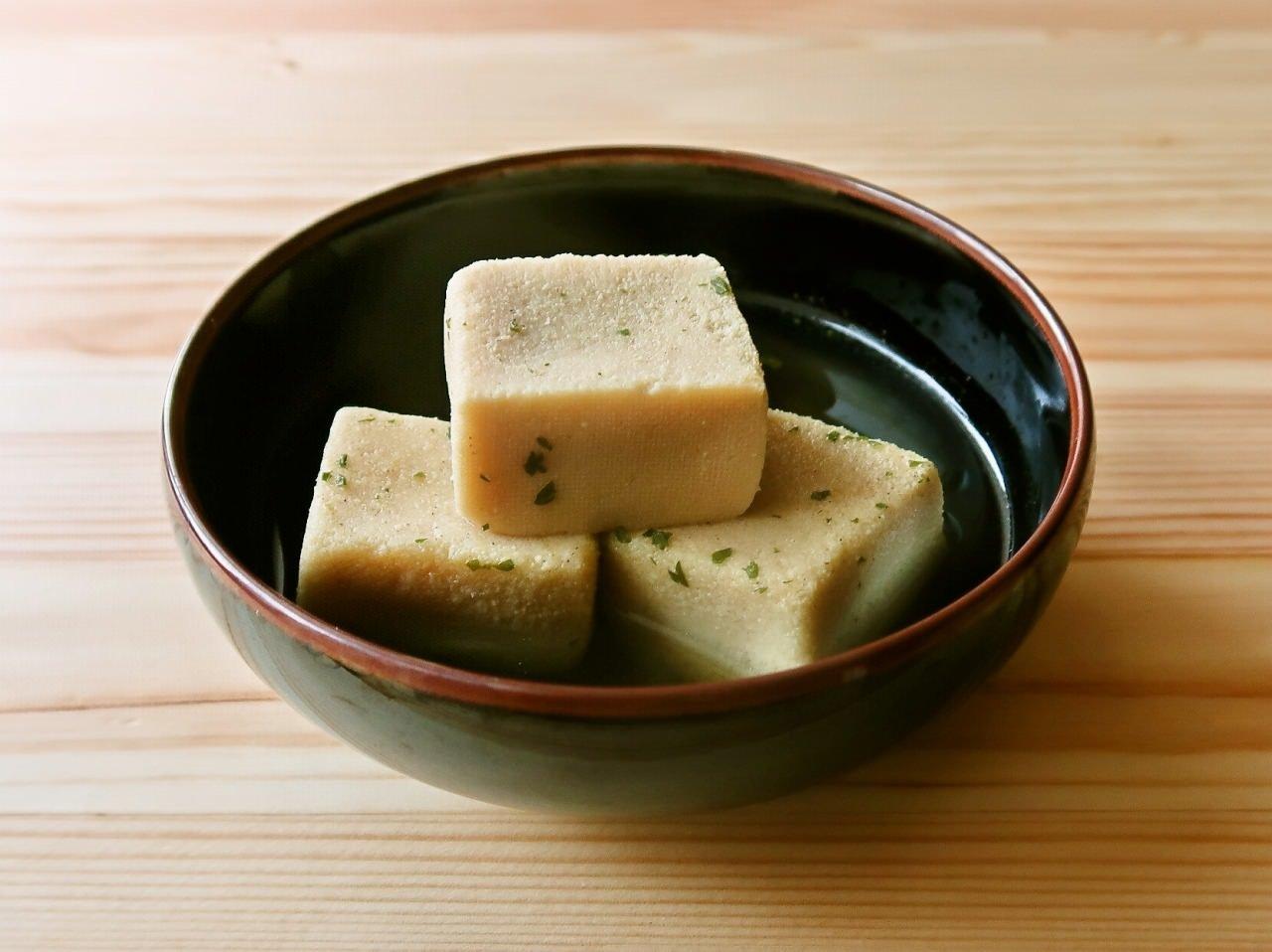 高野豆腐のコンソメ含め煮
