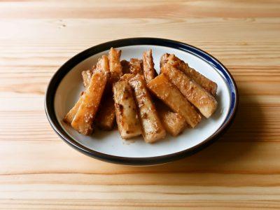 【野菜ひとつ】長芋の味噌マヨきんぴら