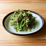 【野菜ひとつ】かぶの葉のおかかマヨ和え