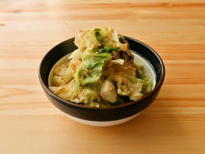 【野菜ひとつ】大量消費 キャベツの梅マヨ和え