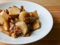 長芋と豚肉のあまから煮