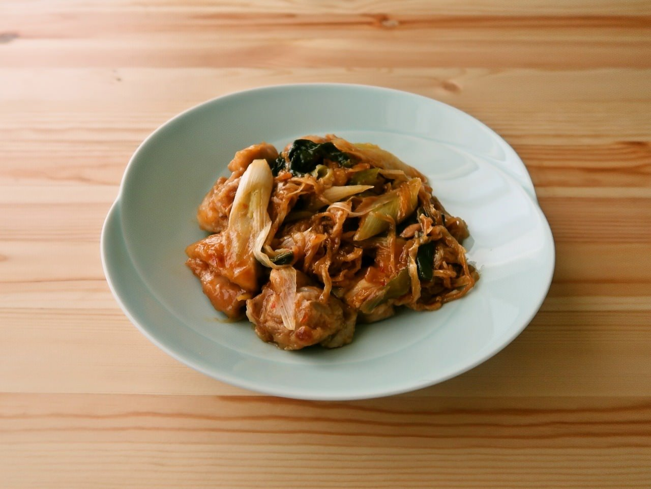 切干大根と鶏もも肉の中華風炒め煮