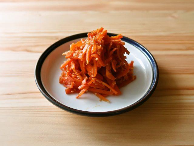 【野菜ひとつ】にんじんのきんぴら