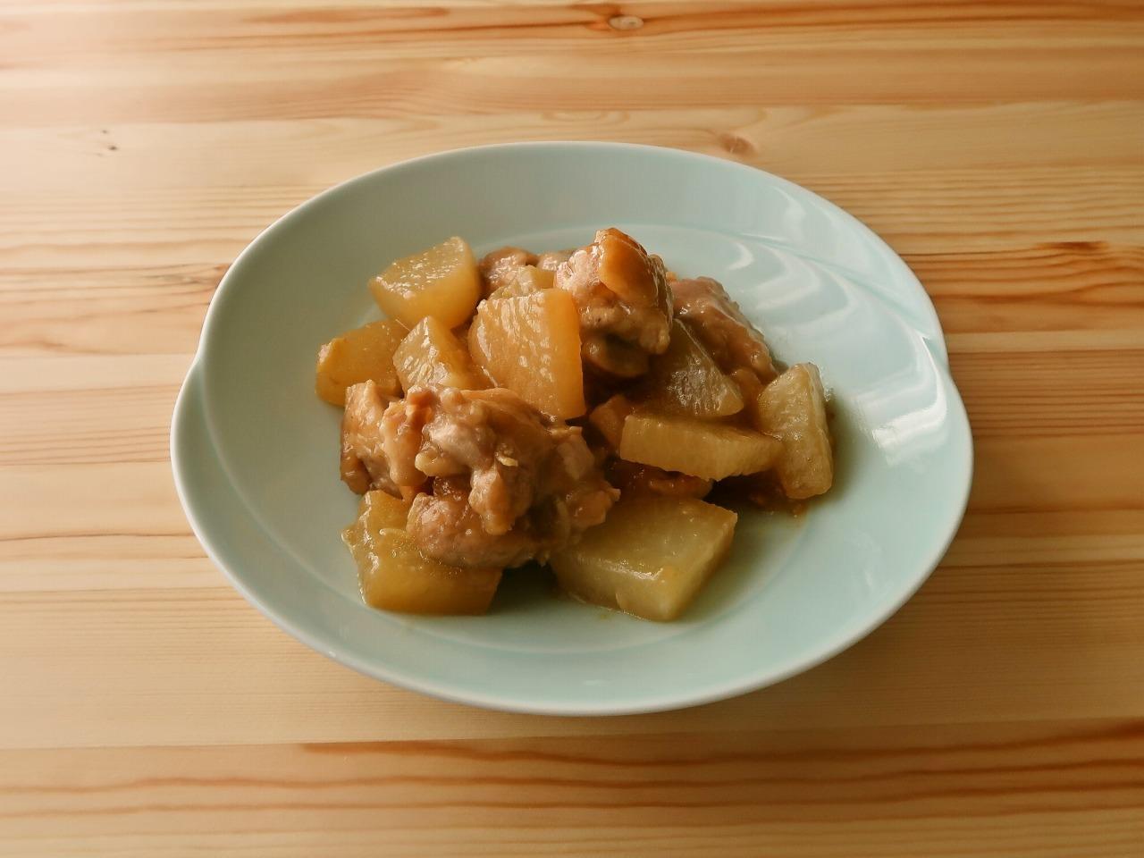 大根と鶏肉の照り煮
