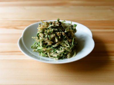 【野菜ひとつ】ごまたっぷり 水菜のごま和え