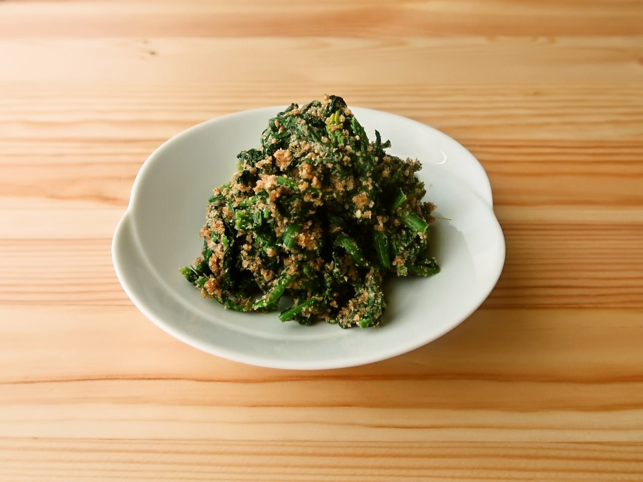 【野菜ひとつ】ごまたっぷり ほうれん草のごま和え
