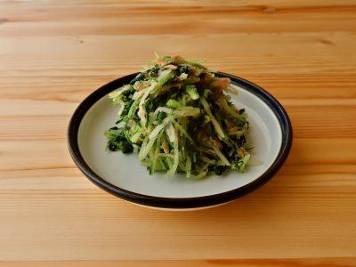 水菜のツナごま和え