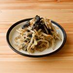 【野菜ひとつ】もやしの海苔酢和え わさび風味