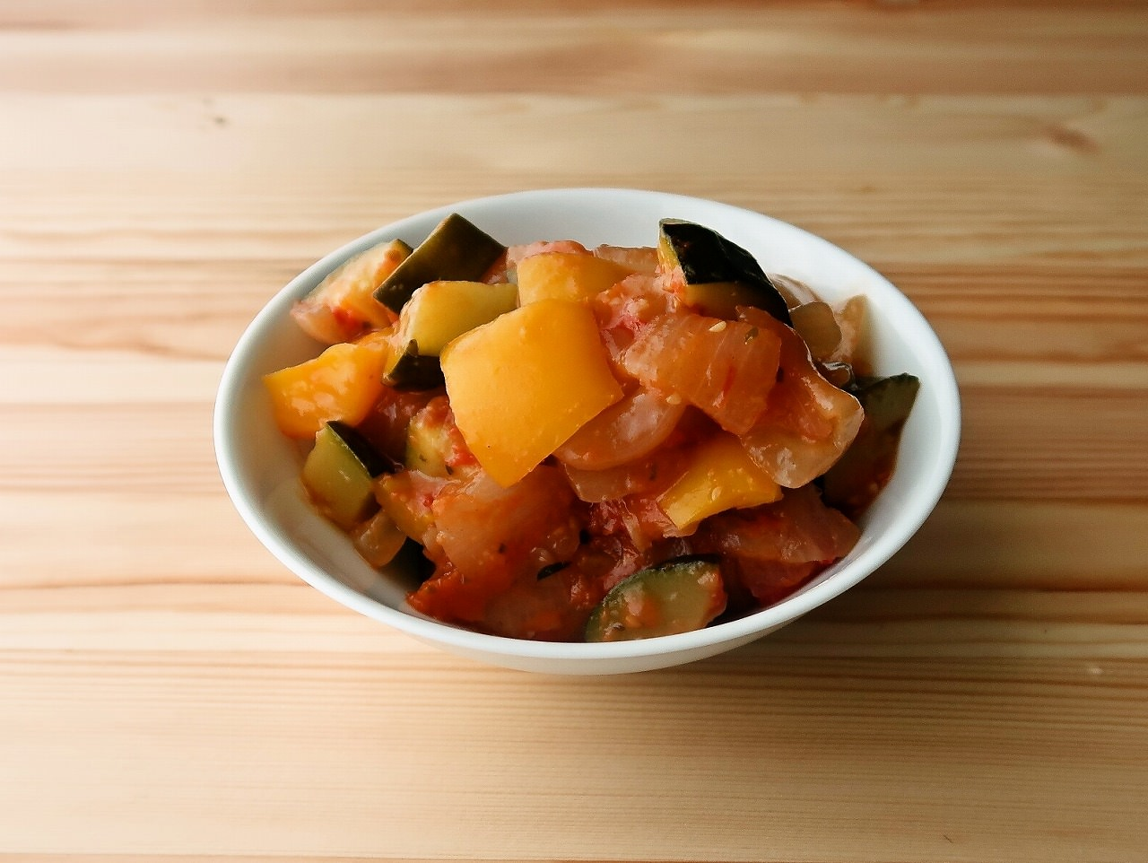 ラタトゥイユ アレンジ 鶏肉