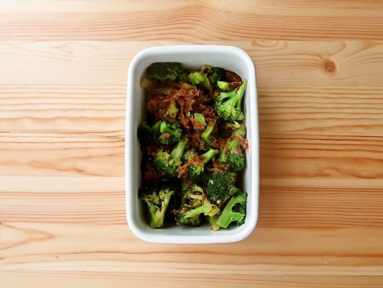 【野菜ひとつ】ブロッコリーの焼きびたし