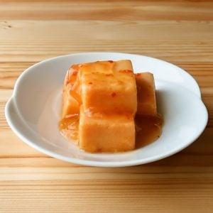 高野豆腐のチリソース煮