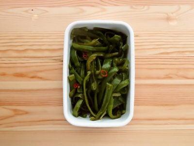 【野菜ひとつ】ピーマンの酢じょうゆ漬け