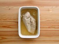 圧力鍋で鶏むね肉の酒蒸し