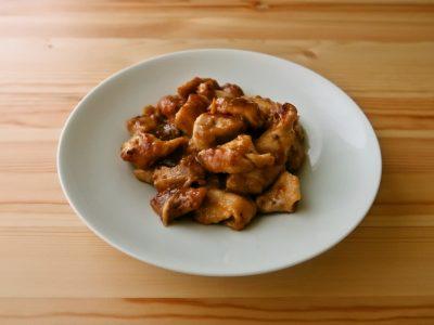 鶏むね肉のマヨ照り焼き
