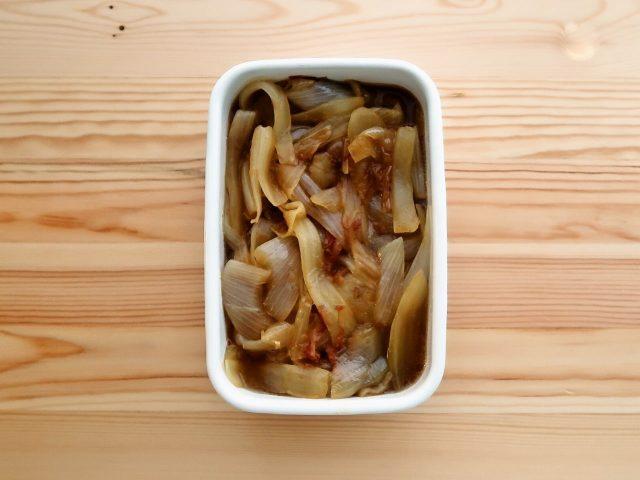 【野菜ひとつ】玉ねぎのとろとろ焼きびたし
