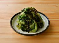 【野菜ひとつ】レタスと塩昆布の即席漬け
