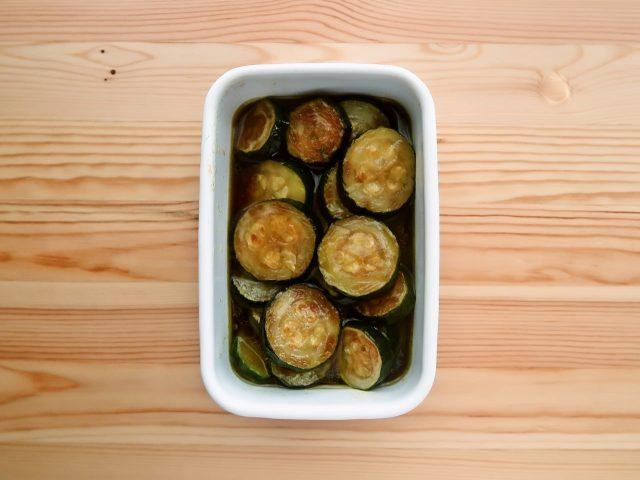 【野菜ひとつ】ズッキーニの焼きびたし