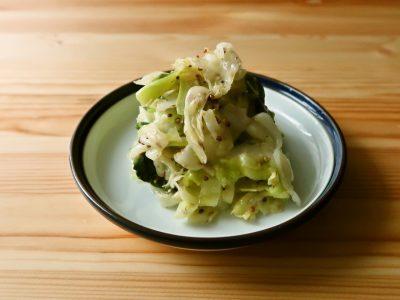 【野菜ひとつ】キャベツの粒マスタードマリネ