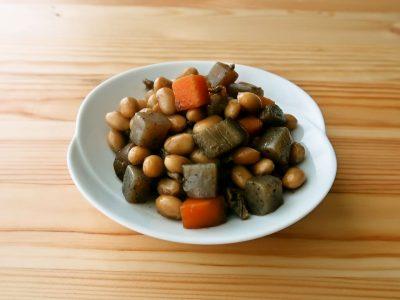 圧力鍋で作る野菜豆