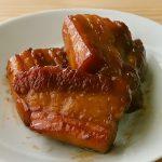 フライパンで豚バラ角煮