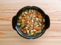 圧力鍋で作る 大豆と根菜の和風スープ