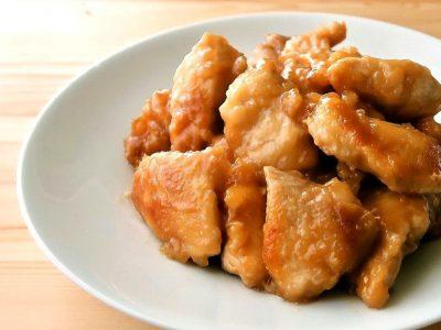 お酢でさっぱりやわらか 鶏むね肉の甘酢煮