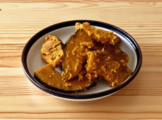 【野菜ひとつ】かぼちゃのマスタードマヨソテー