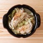手羽先とキャベツの中華風スープ