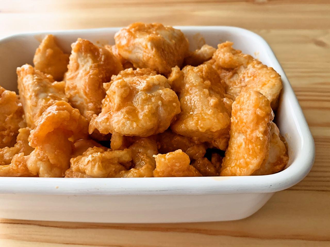 鶏むね肉のオーロラソース炒め(鶏マヨ炒め)