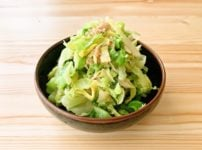 【野菜ひとつ】生姜キャベツ