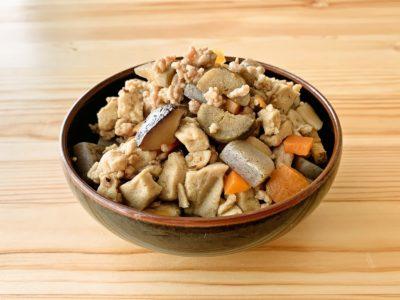 高野豆腐の具だくさん炒り煮