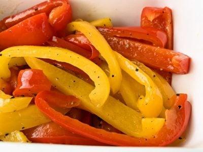 【野菜ひとつ】パプリカの焼きマリネ
