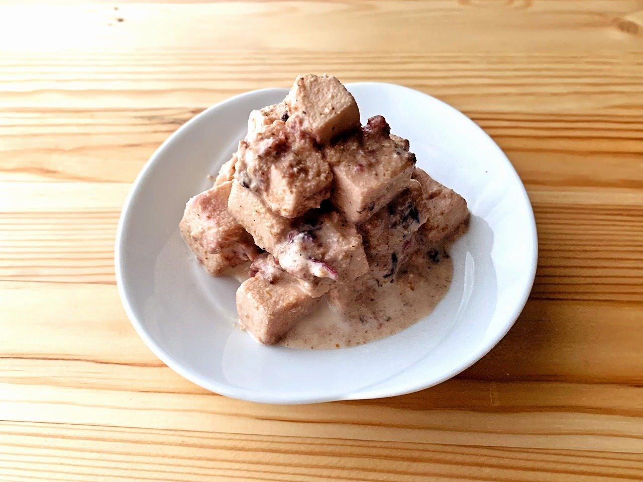 高野豆腐の梅マヨ和え