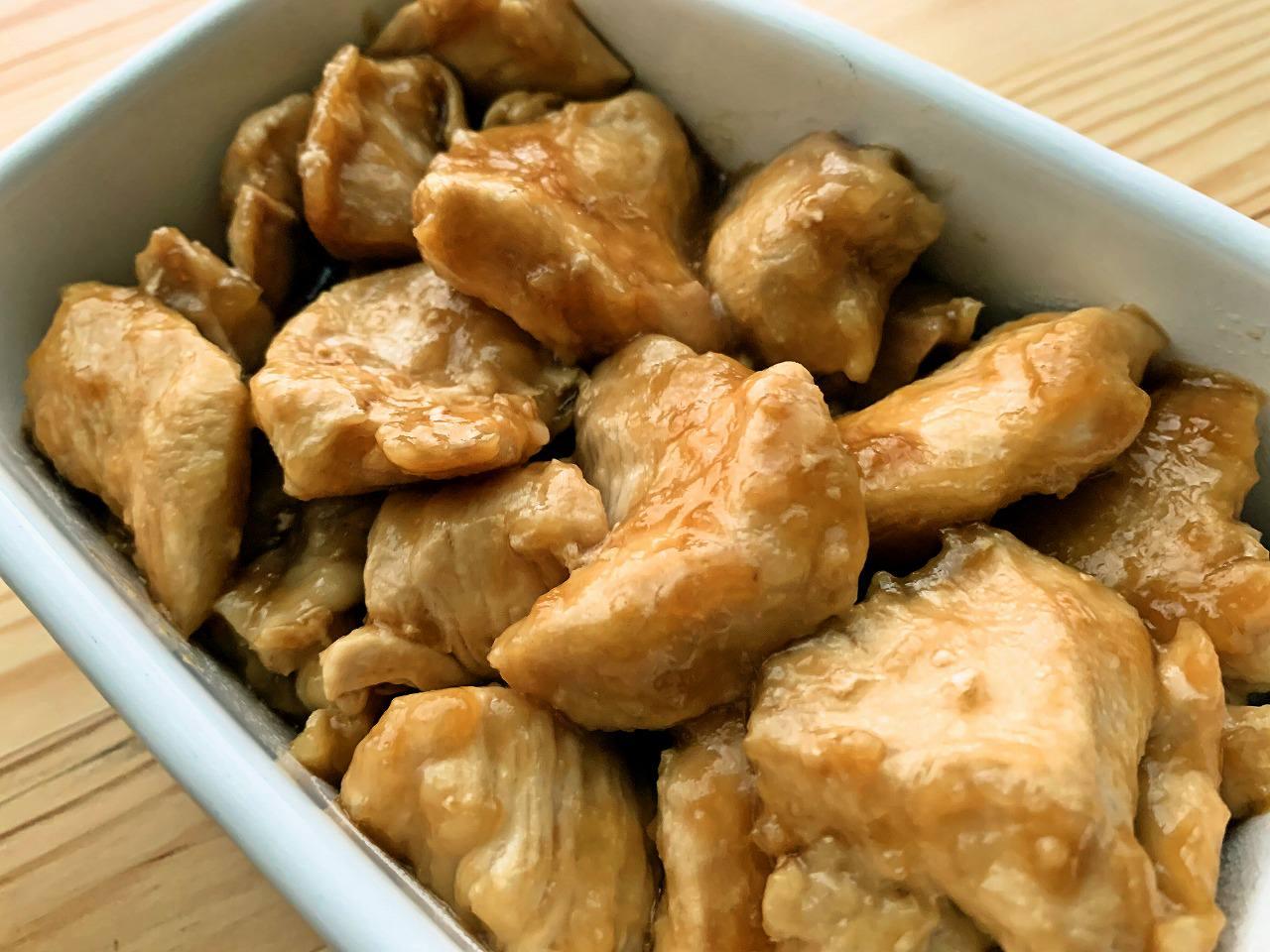 鶏むね肉の照り焼きチキン