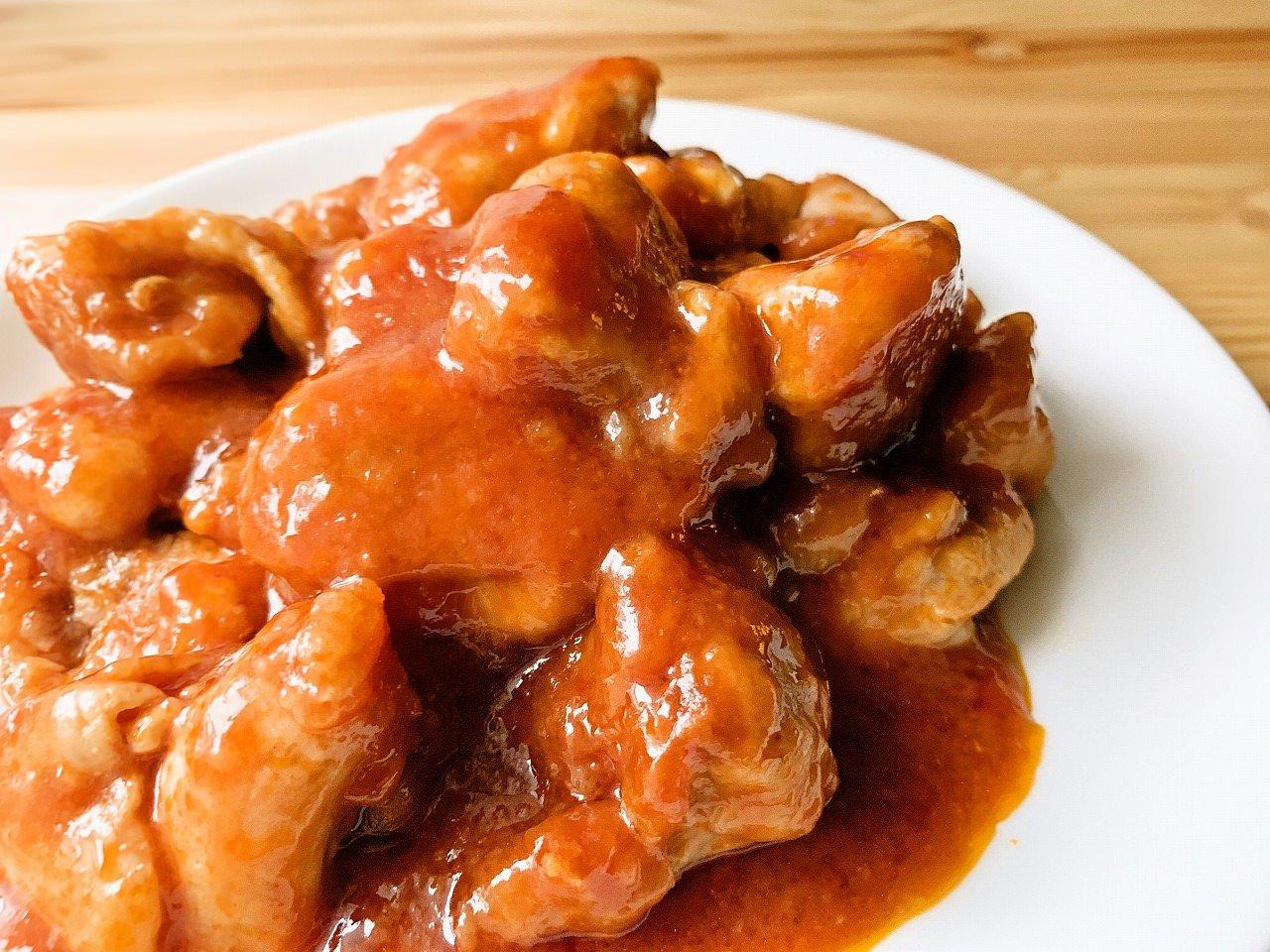 鶏もも肉のチキンチャップ