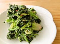 【野菜ひとつ】ほうれん草のナンプラー和え
