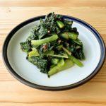 【野菜ひとつ】小松菜のピリ辛豆板醤和え