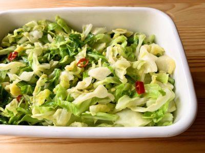 【野菜ひとつ】キャベツのエスニックサラダ