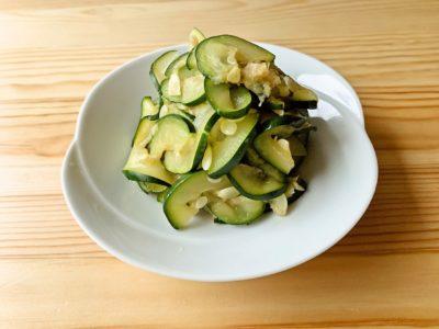 【野菜ひとつ】ズッキーニの酢の物