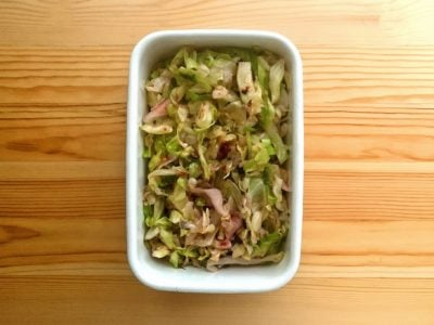 【野菜ひとつ】キャベツの梅マリネ