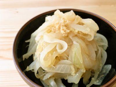 【野菜ひとつ】玉ねぎの酢の物